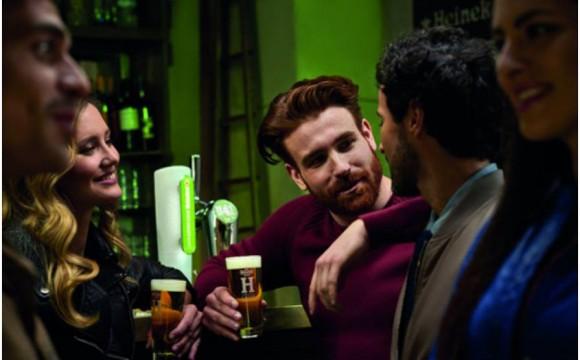 Campagna stampa e web per Heineken