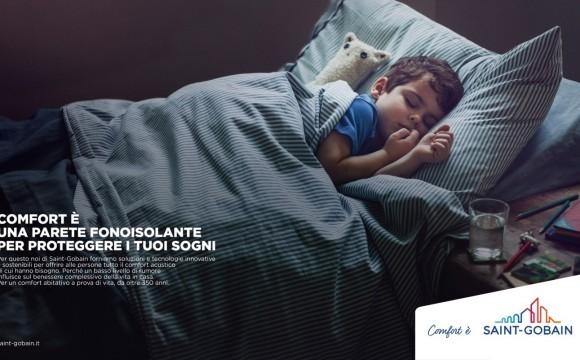 Campagna stampa e web per Saint Gobain