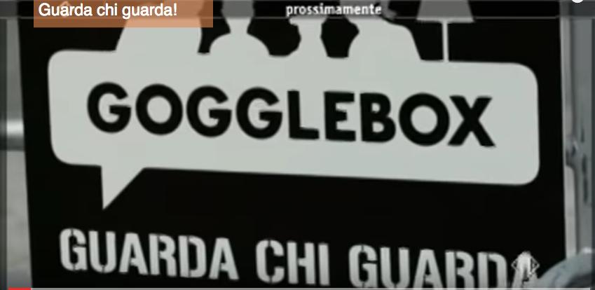 Promo per nuovo programma Mediaset – Gogglebox