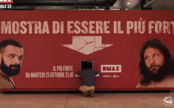 """Promo programma DMAX """"Chi è il più forte"""""""