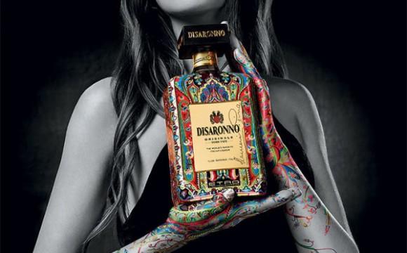 Campagna fotografica Disaronno Wears Etro