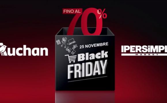 Spot Auchan per il Black Friday