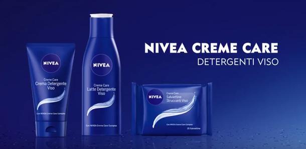 Campagna web NIVEA con Giorgia Palmas