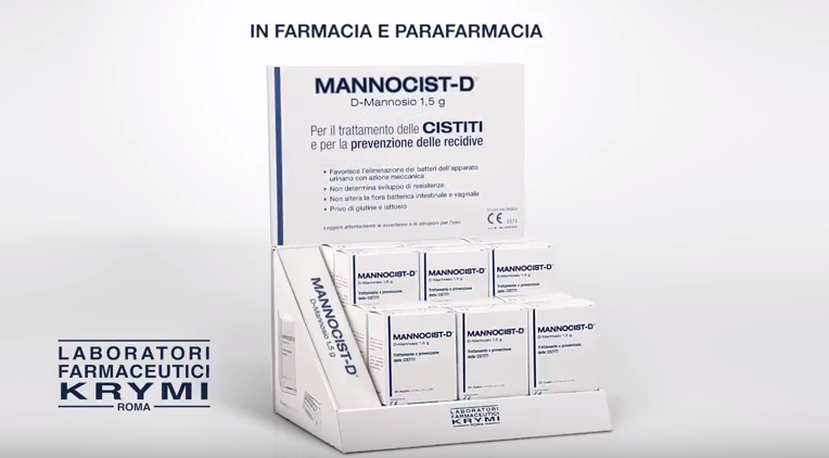 Campagna Mannocist Farmaceutici