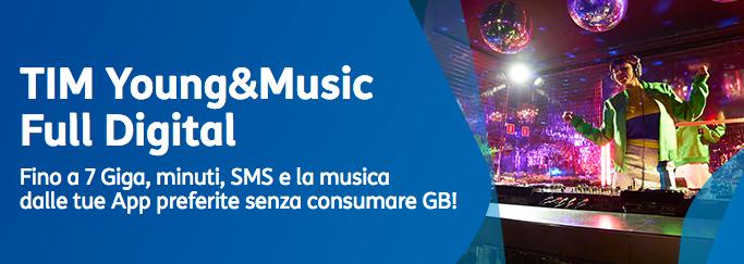 """Campagna tv e stampa """"Tim Giga & Music"""""""