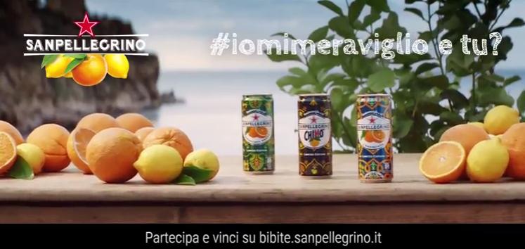 Bibite Sanpellegrino nuova campagna web